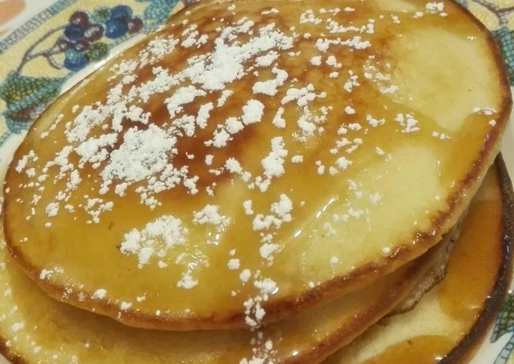 Pam's fluffy pancakes...