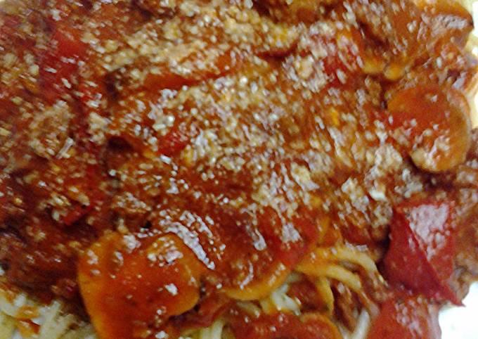 Pretty fresh spaghetti