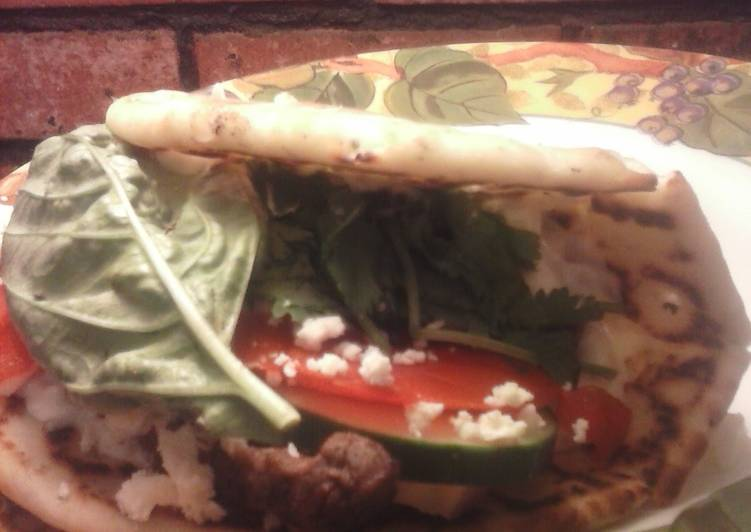 Easiest Way to Prepare Favorite Brad's steak gyros