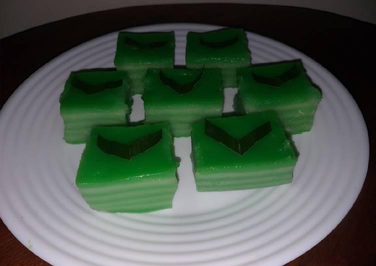 Resep 1 Kue Lapis Tepung Beras Oleh Mami Benjo Cookpad
