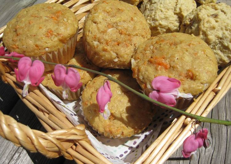 Easiest Way to Prepare Yummy Carrot Muffins