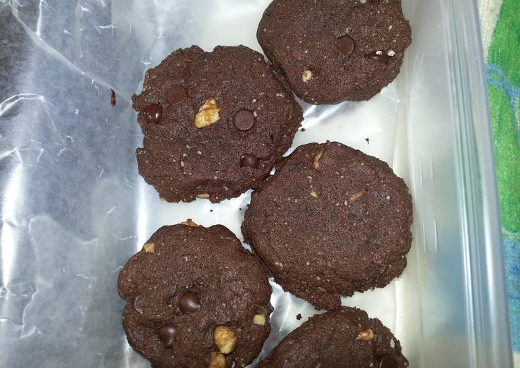 Dark Chocolate-Chunk Cookies