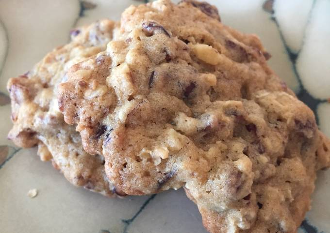 How to Prepare Appetizing Cranberry Oatmeal Cookies