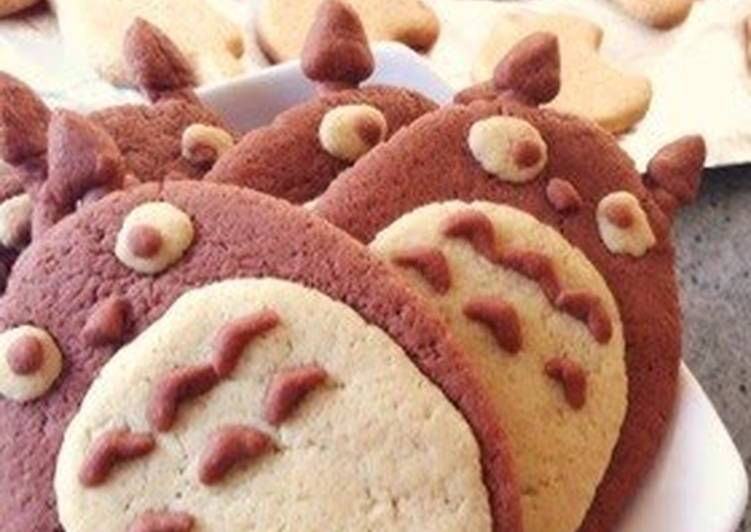 Recipe of Speedy Totoro Cookies with Pancake Mix and Simple Ingredients