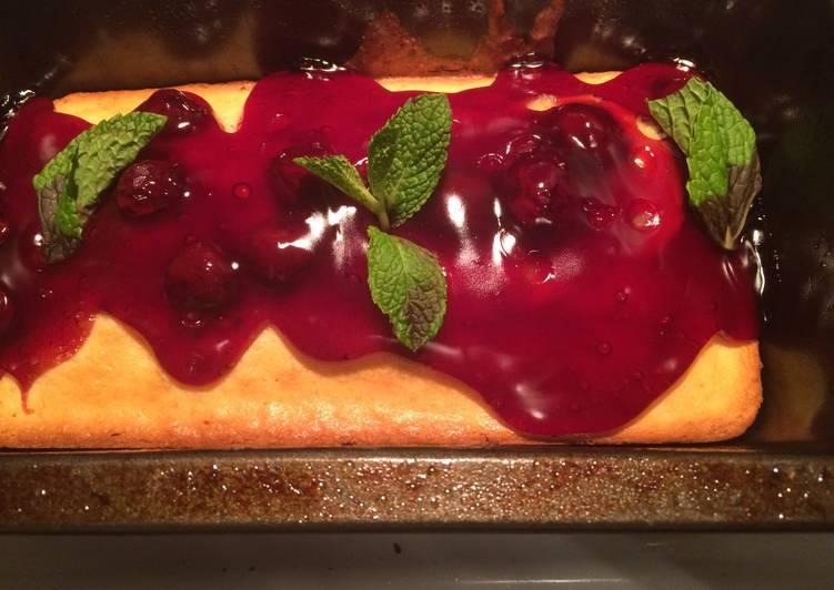 Cherry Cornbread