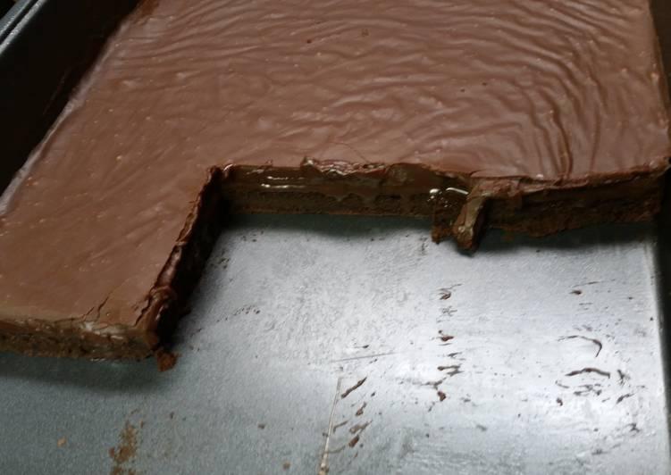 Steps to Prepare Ultimate Fudge Topped Brownies