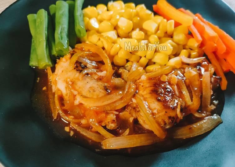 Steak Ayam ala Anak Kost - Resep Diet