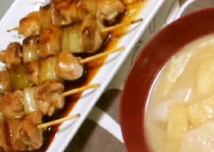 Yakitori with My Family's Yummy Sauce