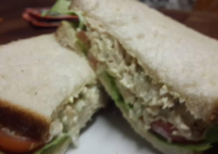 Chicken Mayo Sandwich.