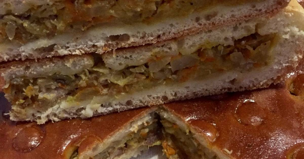 Пирог с рыбой и капустой - 38 пошаговых рецептов с фото