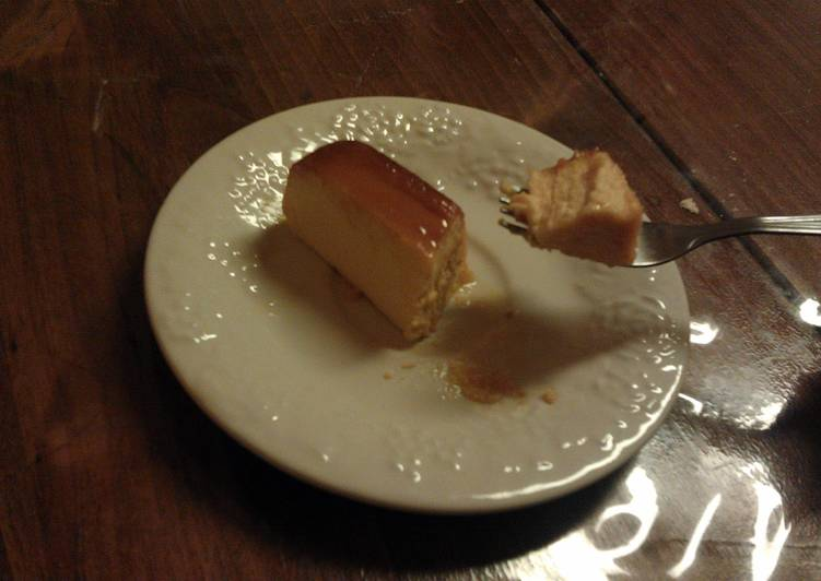 Recipe of Perfect Cheese Flan