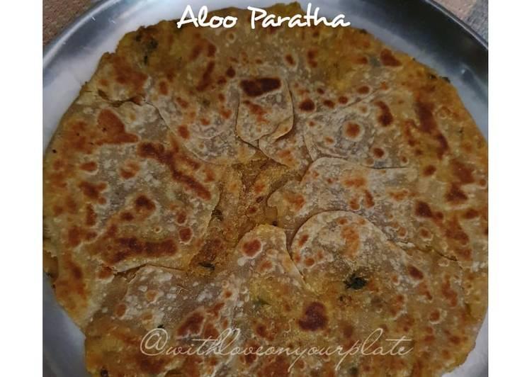 Steps to  Aloo Paratha