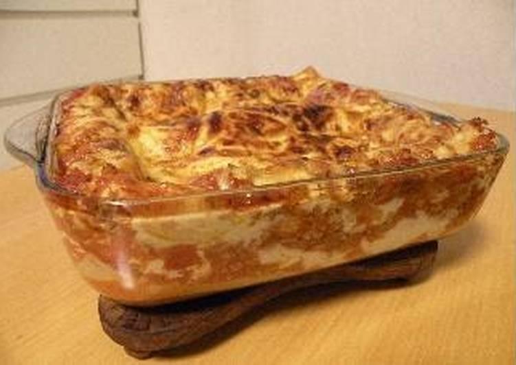 Super Easy Lasagna