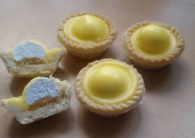 Vickys Scottish Iced Pineapple Cream Tarts, GF DF EF SF NF
