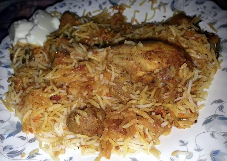 How to Make Ultimate Chicken Tikka Biryani (smoked)