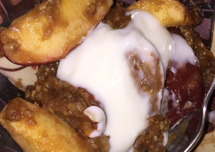 Recipe of Favorite Scrumptious Crock Pot Apple Crisp