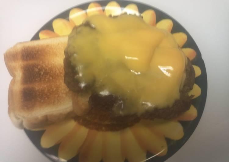 Moma Burgers wit Texas Toast