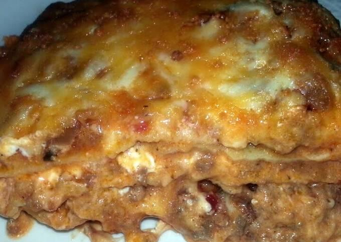 Cheesy Meat Lasagña