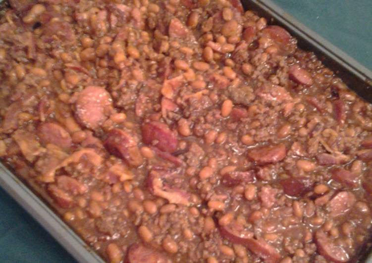 Simple Way to Prepare Homemade Mrs. Bell's Bake Beans