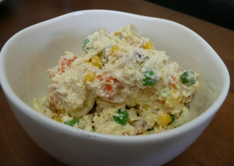 Okara Salad for Dieters - Laurie G Edwards