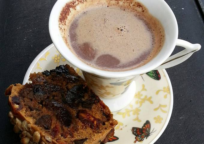 Spiced Hot Chocolate Late Nite Snacking