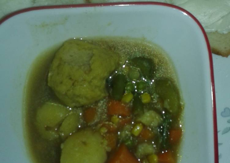 Matzo Ball Stew