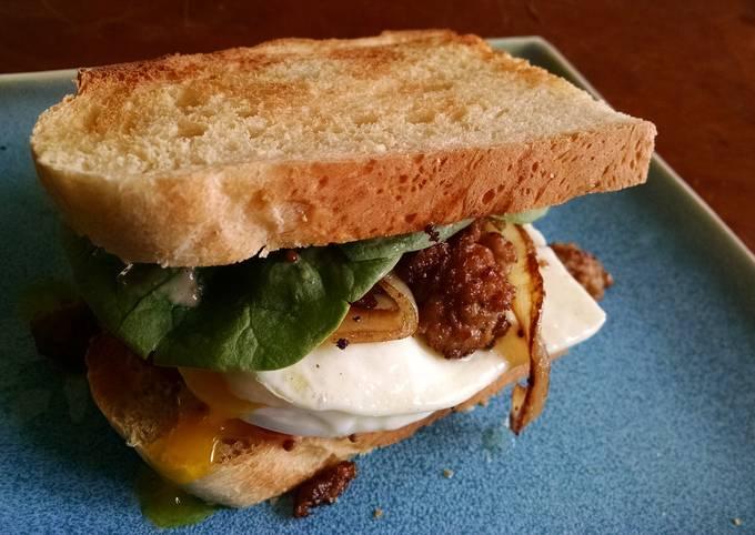 Mediterranean Brunch Sandwich