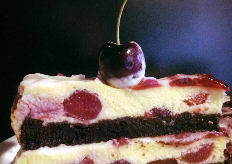 How to Prepare Yummy AMIEs Cherry Cheesecake