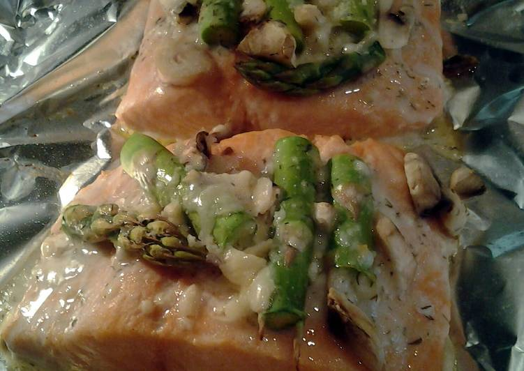 Salmon and asparagus, Many Of You May Possibly Not Realize This But Coconut Oil Can Have Great Health Advantages To It