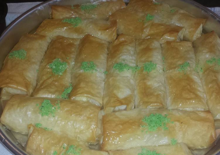Custard filo cake, Heart Friendly Foods You Need To Be Eating