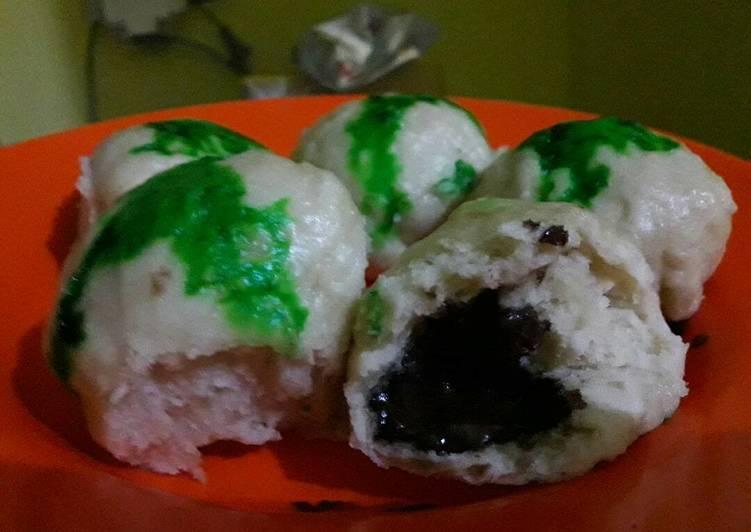 resep cara bikin Bapao lembut isi coklat lumer