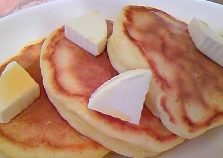 My Secret Fluffy Tofu Pancakes