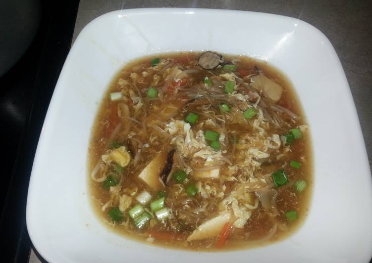 Hot and Sour Asian Soup