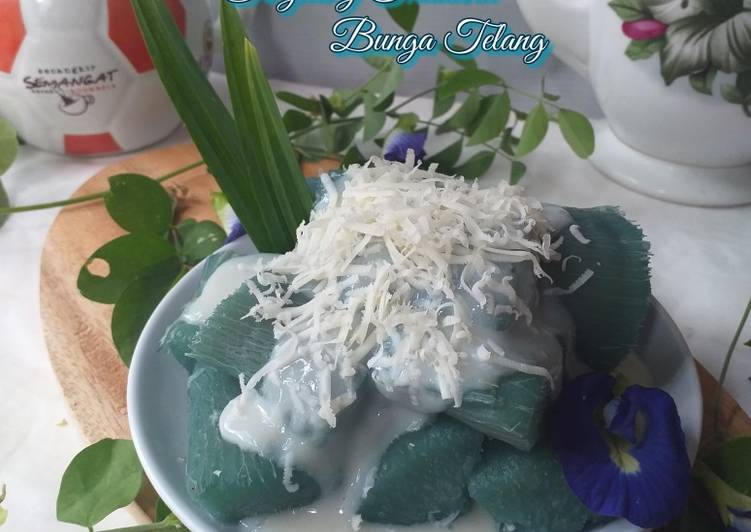 Singkong Thailand bunga telang