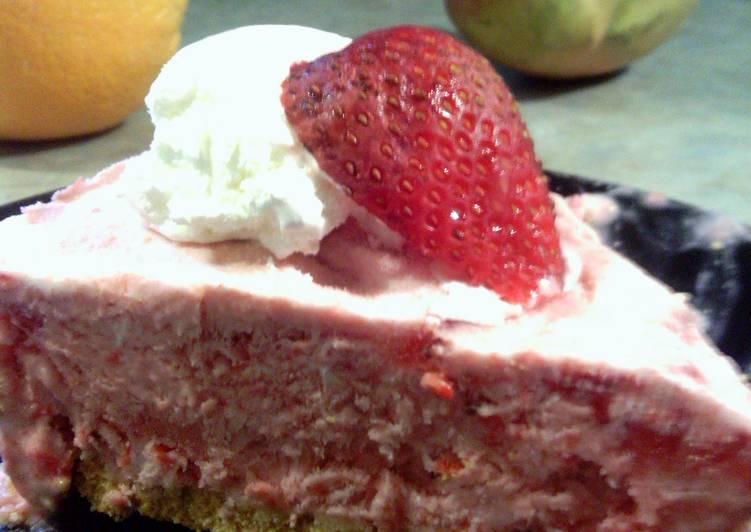 Easiest Way to Prepare Tasty Creamy Strawberry Pie