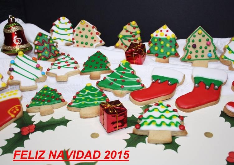 Galletas De Navidad Decoradas Receta De Luisa C Correcher