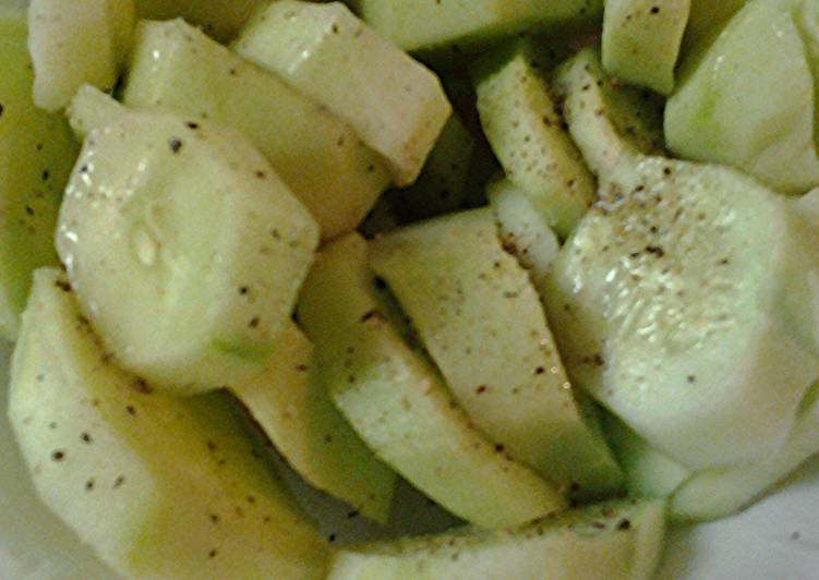 Simple Way to Prepare Speedy Memorial Day refreshing cucumbers