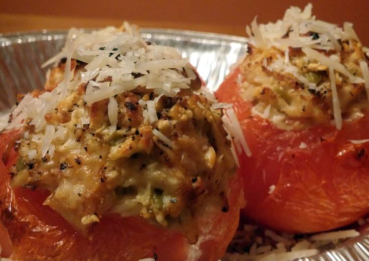 Hope's Stuffed Tomatoes or Peppers