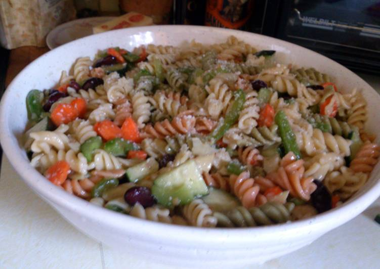 Pasta Salad (with Beans)