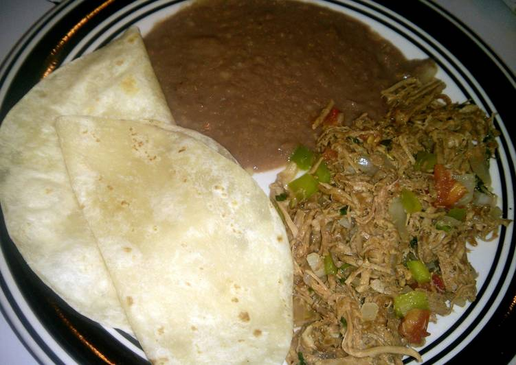Recipe of Award-winning Machaca (My way ^_^)