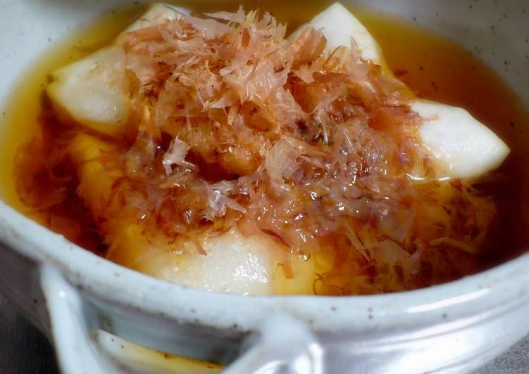 'Zouni' Mochi Rice Cake Soup -- Lazy Method