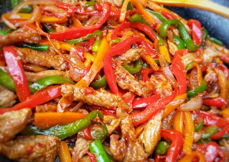 BEEF VEGGIES STIR-FRY