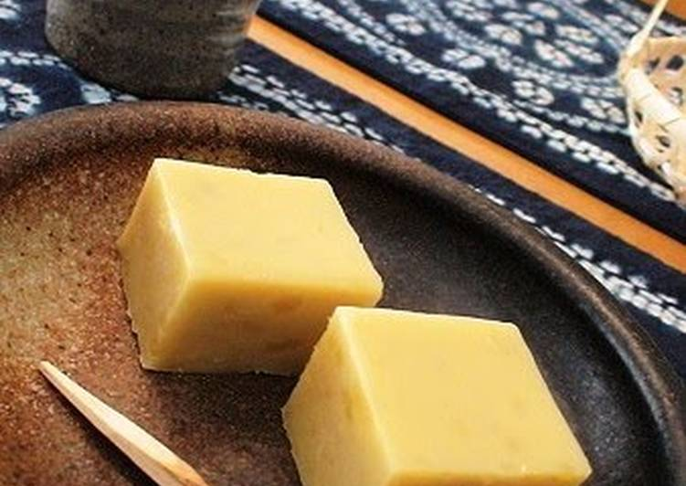 Recipe of Homemade Standard Sweet Potato Yokan