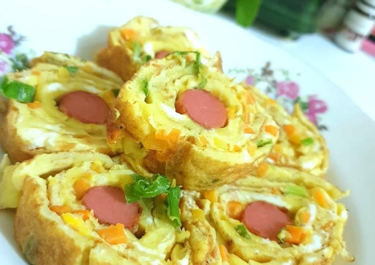 Dadar Telur Gulung (gyeran mari) - cookandrecipe.com