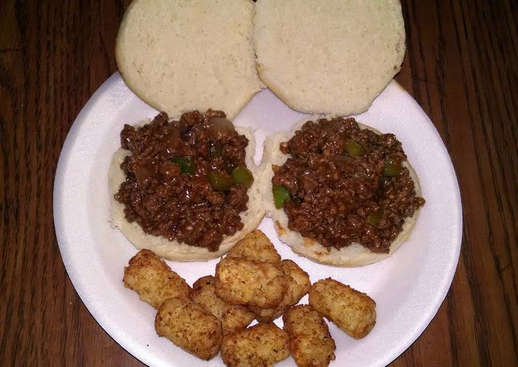 kid friendly sloppy joes