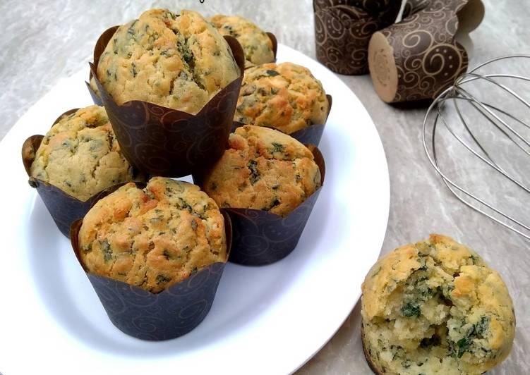 Muffin Keju Bayam