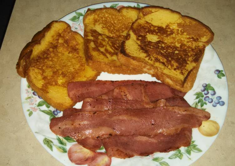 Quick and Easy Recipe: Yummy basic French toast