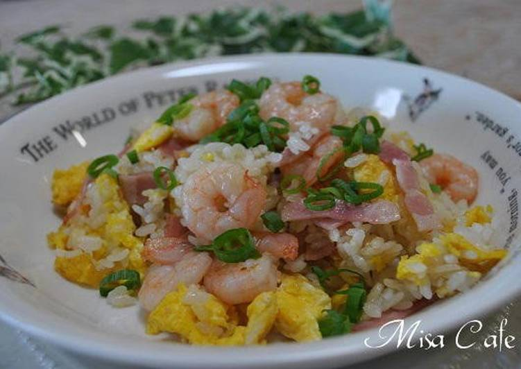 Chinese 5-Spice Powder Scented Shrimp Fried Rice