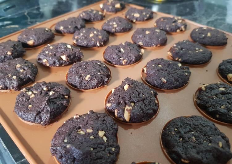 Cookies coklat putih telur