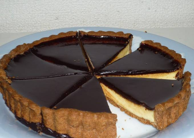 How to Make Delicious White Chocolate Tart For Valentine's Day
